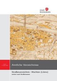 Straßenverzeichnis-Wachten - Statistik.regensburg.de - Stadt ...