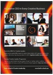 Cannes Creative Leaders Programme Flyer - Berlin School of ...