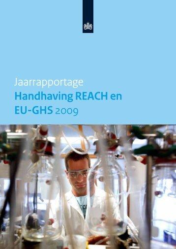 Jaarrapportage Handhaving REACH en EU-GHS ... - Inspectie SZW