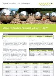 Scoach Switzerland Participation Index – SCOP®