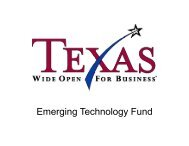 E i T Emerging Tech l F d nology Fund - RGV LEAD