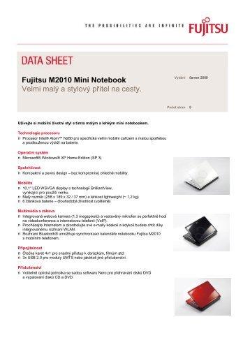Fujitsu M2010 Mini Notebook Velmi malý a stylový ... - CDC Data s.r.o.