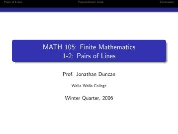Finite Math - Sets of Outcomes and Trees