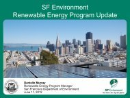 Renewable Energy Task Force Program Update Presentation