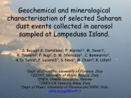 Geochemical and mineralogical characterisation of selected ...