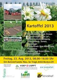 Kartoffel 2013 - LANDI Weinland