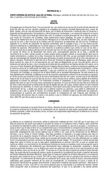 Jurisprudencia Codigo Procesal Penal.(CPP) - Poder Judicial