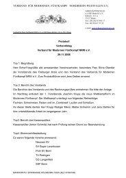 Protokoll zum Verbandsrat des Landesverbandes für Modernen ...