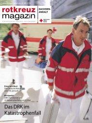 magazin - (DRK) Landesverband Sachsen-Anhalt