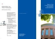 Flyer zum Studiengang - Uni Freiburg - Albert-Ludwigs-Universität ...