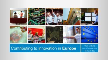 Contributing to innovation in Europe - EAI