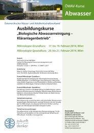 MIKroSKoPIe-GrundKurS - ÖWAV