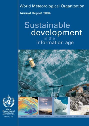 Annual Report 2004 - E-Library - WMO