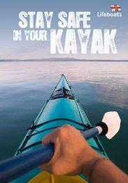 Kayaking safely leaflet - RNLI
