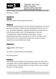 Ashram & Autobahn - Deutsch-indische Geschichten - WDR