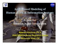 Agent-Based Modelling of Human Work & Information ... - TU Delft