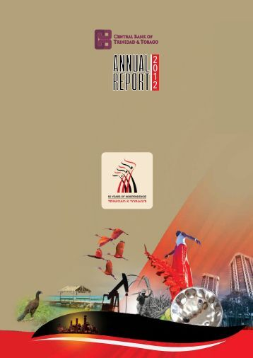 2012 Annual Report - Central Bank of Trinidad and Tobago