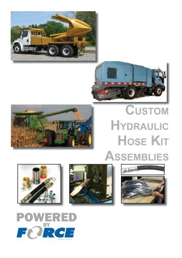 Custom Hydraulic Hose Assemblies : Page models covered thi