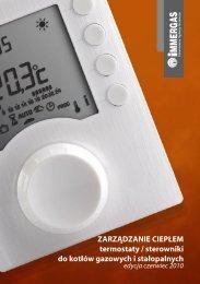 Zarządzanie ciepłem - termostaty/sterowniki do kotłów ... - Immergas
