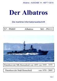 Albatros - AUSGABE 14 - HEFT 1/2010 - der Schnellboote Albatros