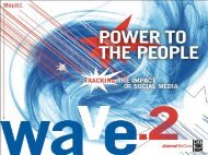 UM Global: Power To The People- Tracking the Rise of Social Media ...