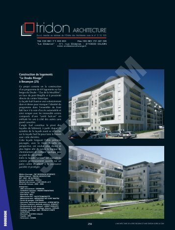 Tridon Architecture - L'Architecture