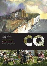 Spring 12 - Cultural Quarterly Online