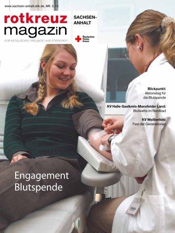 Herbstausgabe des Rotkreuzmagazins 2012 als PDF