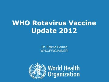 10th International Rotavirus Symposium ... - Sabin Vaccine Institute