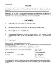 Protokoll vom 28. Mai 2006 - Grellingen
