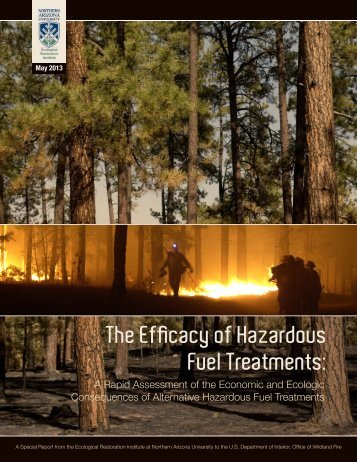 The Efficacy of Hazardous Fuel Treatments: - ERI Library - Northern ...