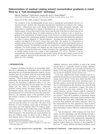 determination of residual solvents by analytical The determination of residual solvents in drug substances, 380 s pandey, p pandey, r kumar, n p singh excipients or drug products is known to be one of the most difficult and demanding analytical tasks in the pharma-ceutical industry furthermore, the determination of polar  residual solvent determination by head space gas.
