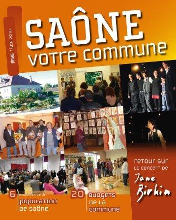 N° 48, mars 2010 (format pdf) - Saone
