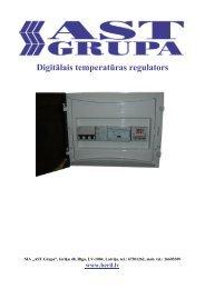 Digitālais temperatūras regulators - Beril, Sia