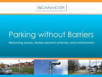 Great Britain, div. locations: Barrierless Parking, SCANaCAR