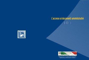 L'accesso ai documenti amministrativi - Governo Italiano