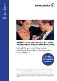 Kranken - SIGNAL IDUNA Vertriebspartnerservice AG