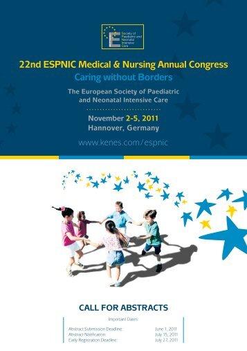 22nd ESPNIC Medical & Nursing Annual Congress Caring ... - EUPSA