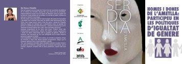 Diptic dia Dona Ametlla.indd - Ajuntament de L'Ametlla del Vallès