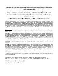 Processamento de Imagens Colposcópicas Digitais - SBIS