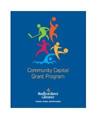 2013 14 Community Capital Grant Guideline and Application