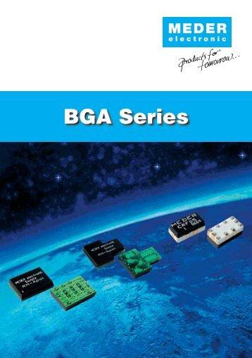 BGA Series - MEDER electronic