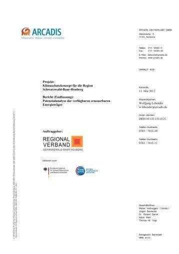 1,6 MB, pdf. - Regionalverband Schwarzwald-Baar-Heuberg