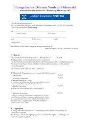 hier - Evangelisches Dekanat Vorderer Odenwald