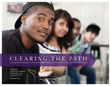 Clearing the Path - EDUCAUSE.edu