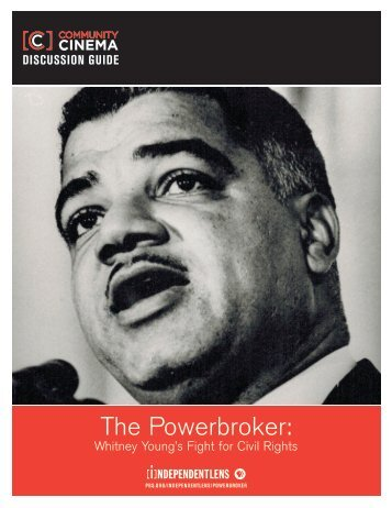The Powerbroker Discussion Guide - PBS