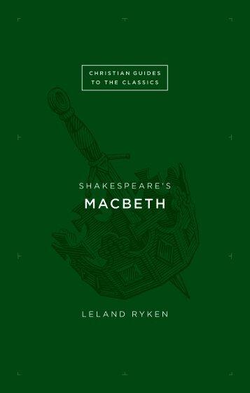 MACBETH - Monergism Books