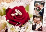 Preisliste Hochzeitsfotografie 2011 - GomollDesign