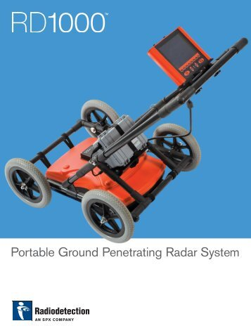 Portable Ground Penetrating Radar System