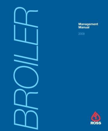 Ross Broiler Manual - Poultry Hub